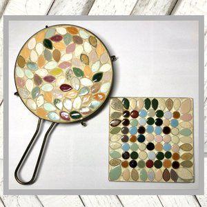 Vintage (1960's-1970's) Mosaic Tile Hot Pad Trivet